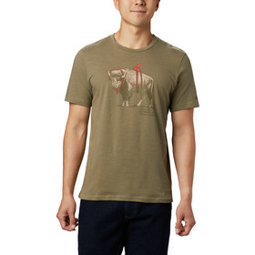 Columbia Piney Falls Graphic T-Shirt Homme, sage sharkalo
